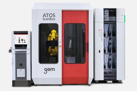 ATOS ScanBox BPS GOM - Metrology