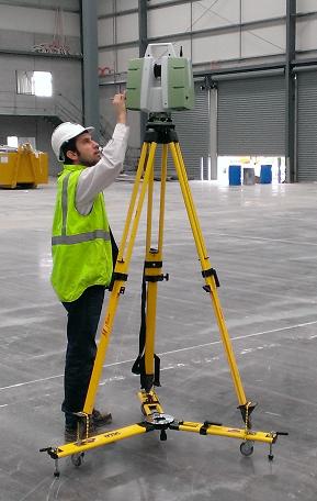 Leica terrestrial laser scanner
