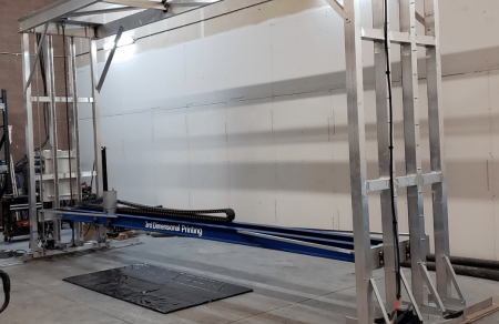 Revolution One 3rd Dimensional Printing - Construction
