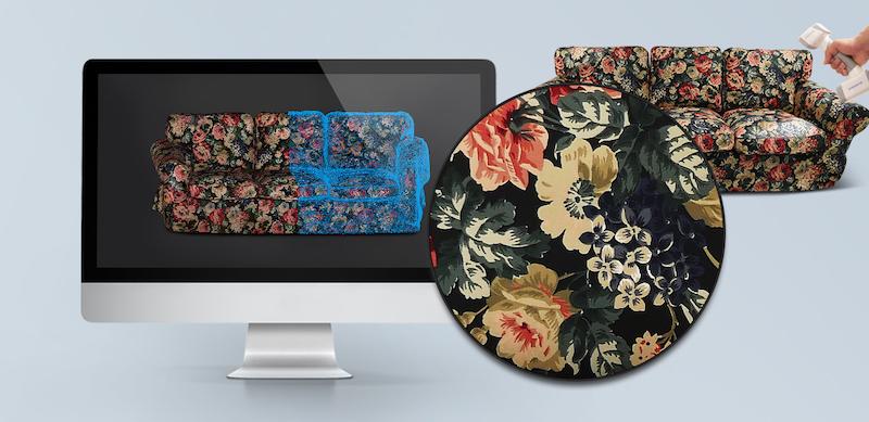 Scan 3D d'un canapé avec le Shining 3D EinScan H.