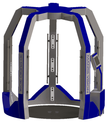3iosk Mantis Vision - Body scanning
