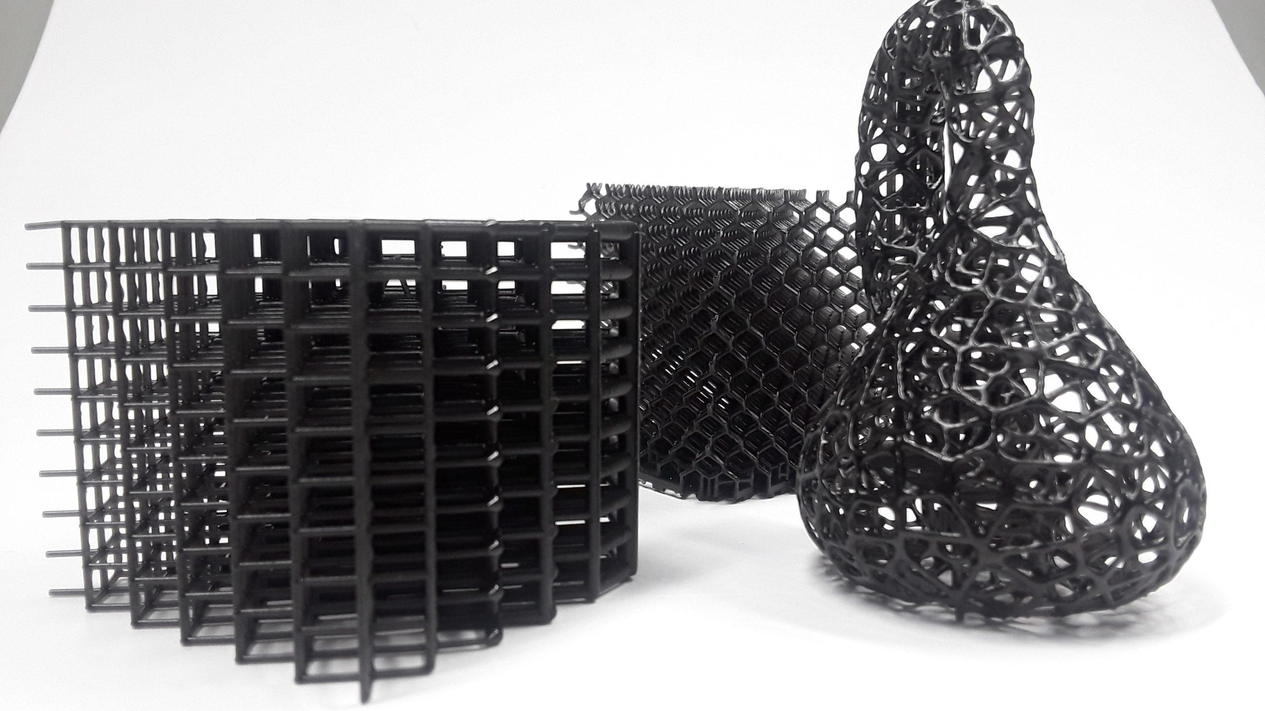 Resin 3D printed parts Figure 4 3D printer