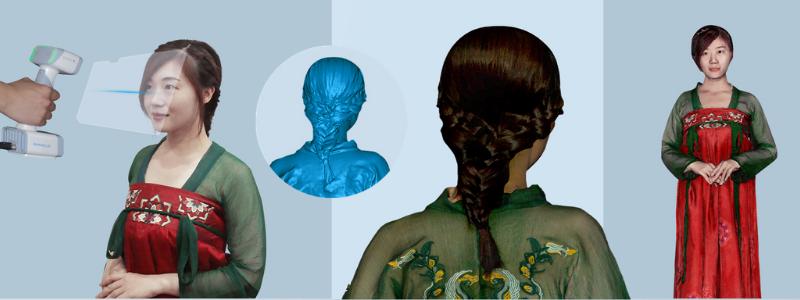 Scan 3D corporel avec le EinScan H.