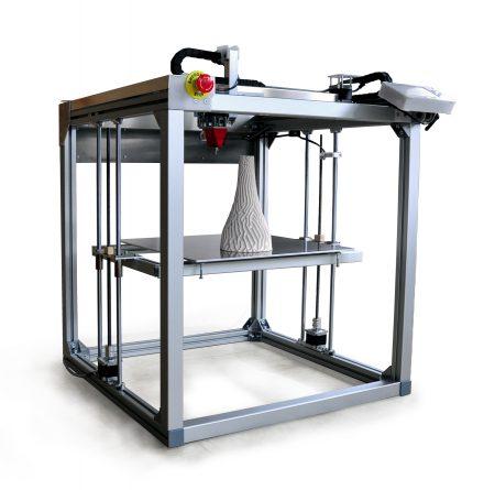 3.1 Multimaterial 3D printer StoneFlower - Ceramic, Clay