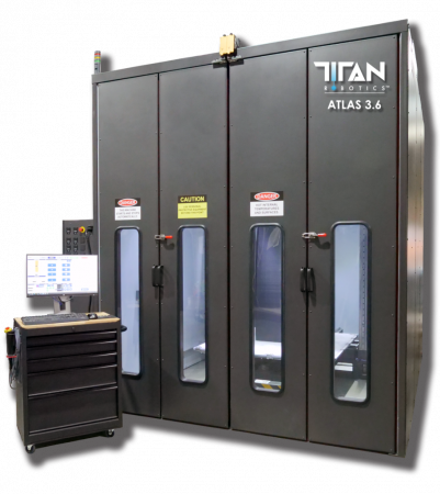 Atlas 3.6 Titan Robotics - Large format, Pellets