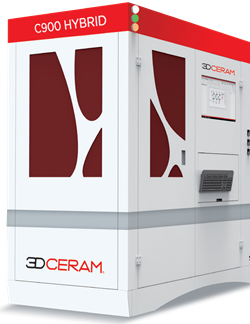 CERAMAKER C900 HYBRID 3DCeram - 3D printers