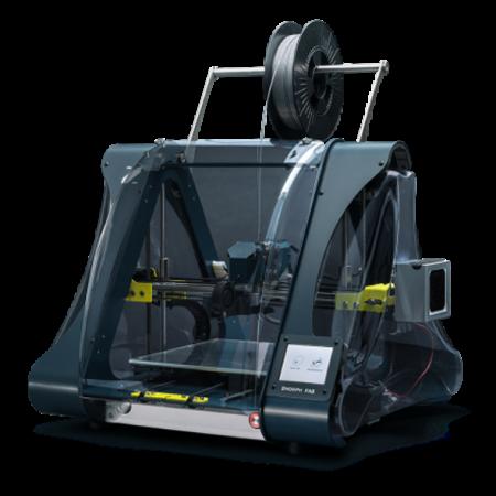 Fab ZMorph - Clay, Hybrid manufacturing