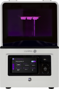 Carima IMD resin 3D printer for dental applications