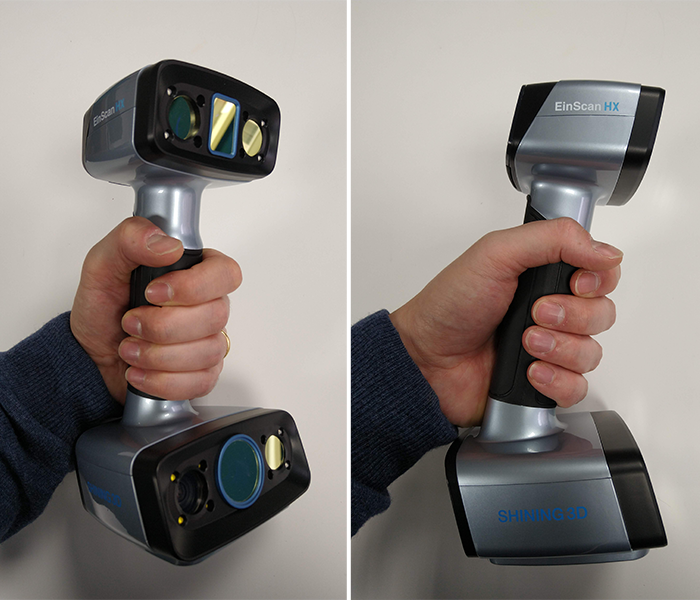 The Shining 3D EinScan HX 3D scanner