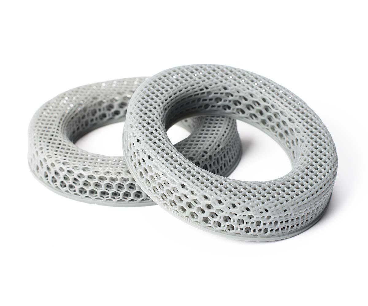 Carbon silicone headphone cushions