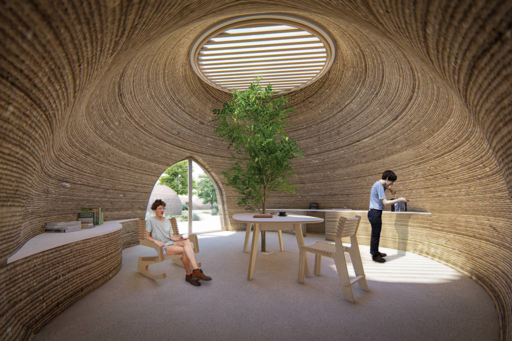 Mario Cucinella Architects' TECLA house 3D printing project