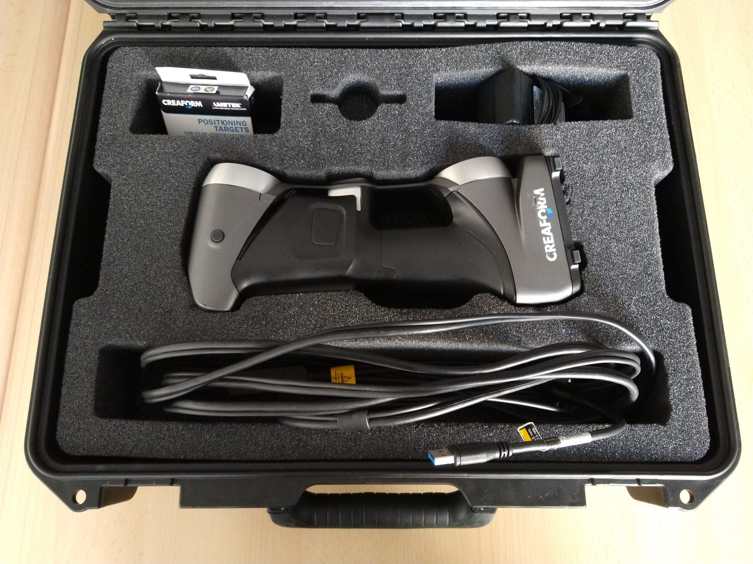 Creaform HandySCAN 3D flycase