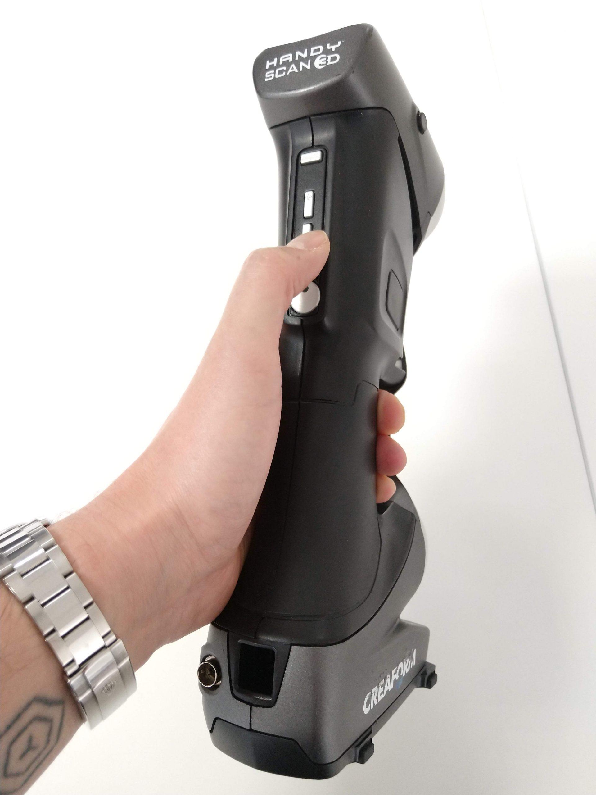 HandySCAN buttons and ergonomics