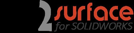 Mesh2Surface for SOLIDWORKS® KVS - 3D software