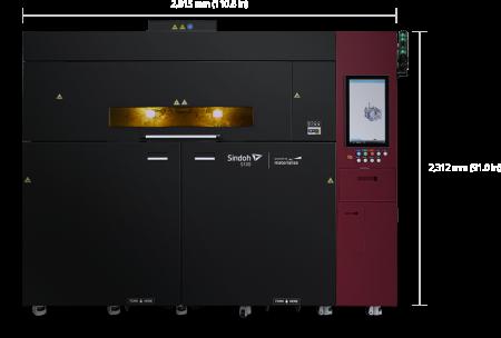 S100 Sindoh - Large format, SLS - EN