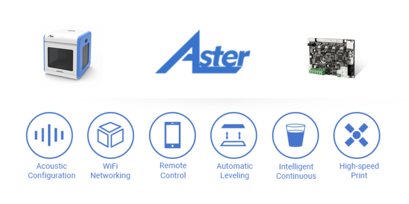 Affordable cloud 3D printing with Aster 3D