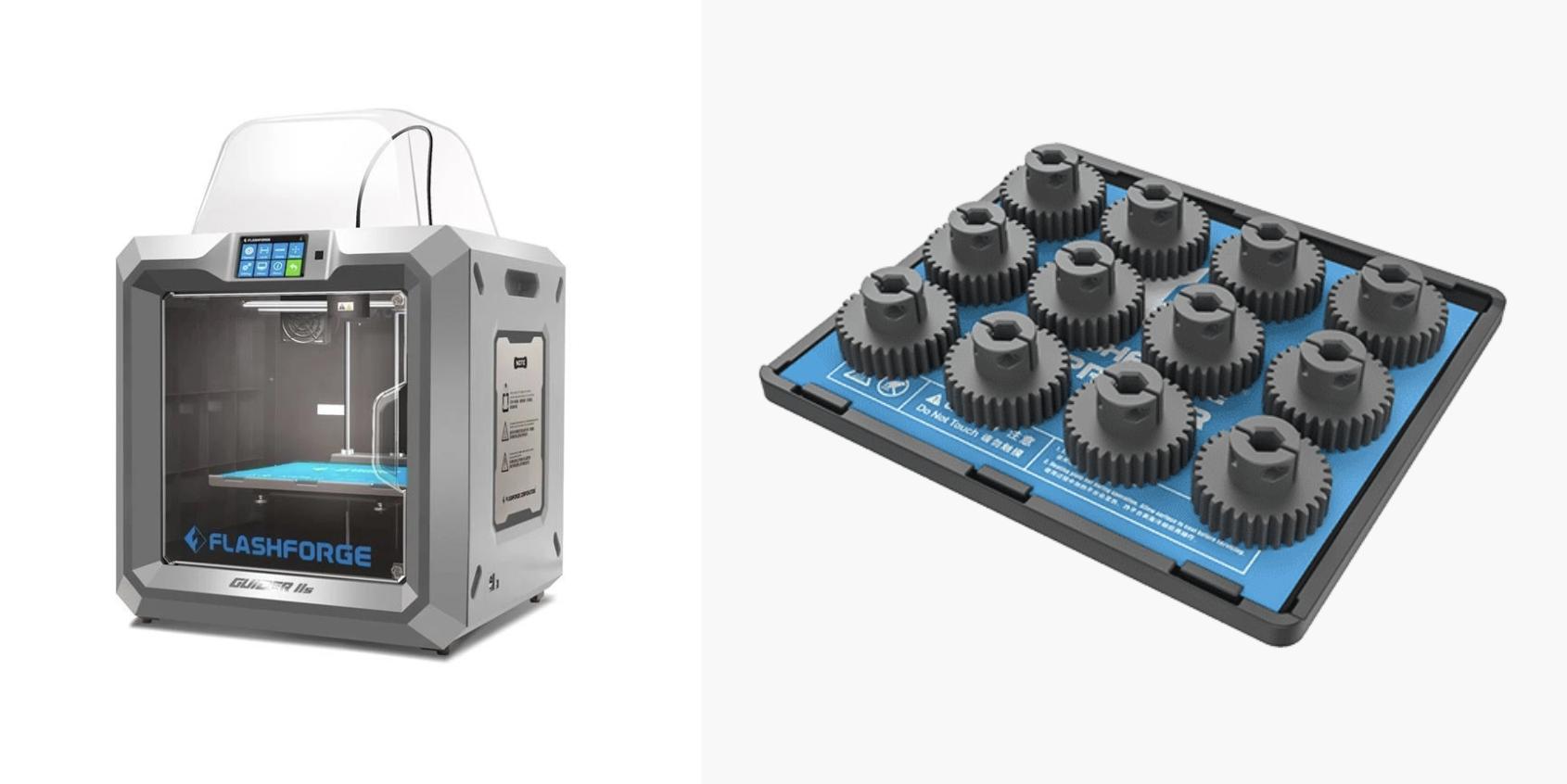 Flashforge Guider IIS: A large desktop 3D printer for low-volume production
