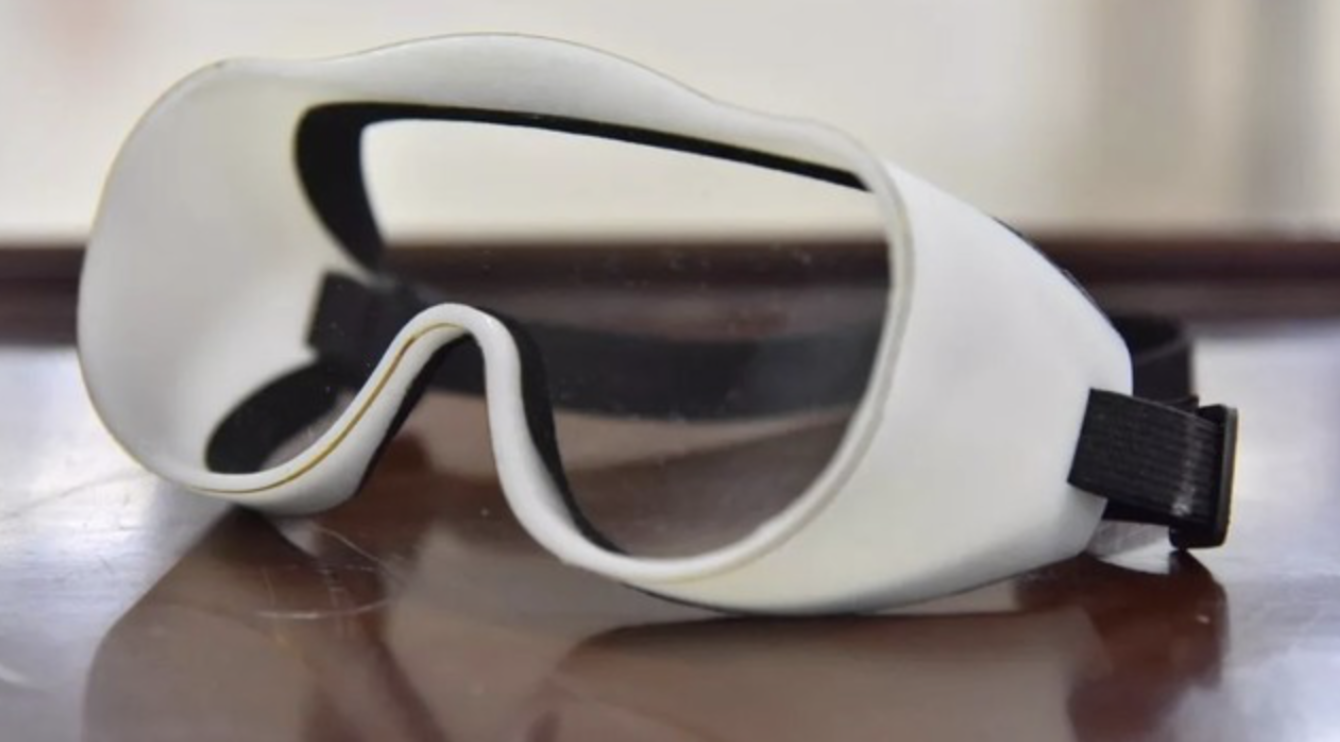 HYG medical protective goggles 3D printed
