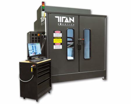 Atlas-HS Titan Robotics - Hybrid manufacturing, Pellets