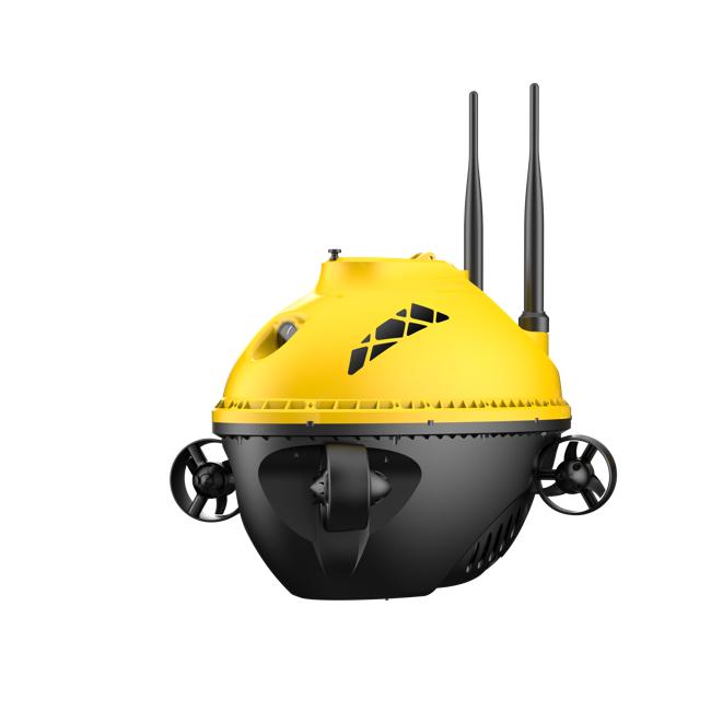 Chasing F1 underwater drone