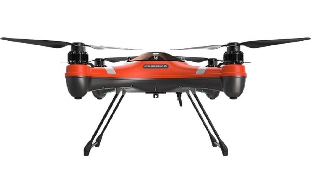 SwellPro SplashDrone 3+ waterproof quadcopter drone for aerial and underwater filming