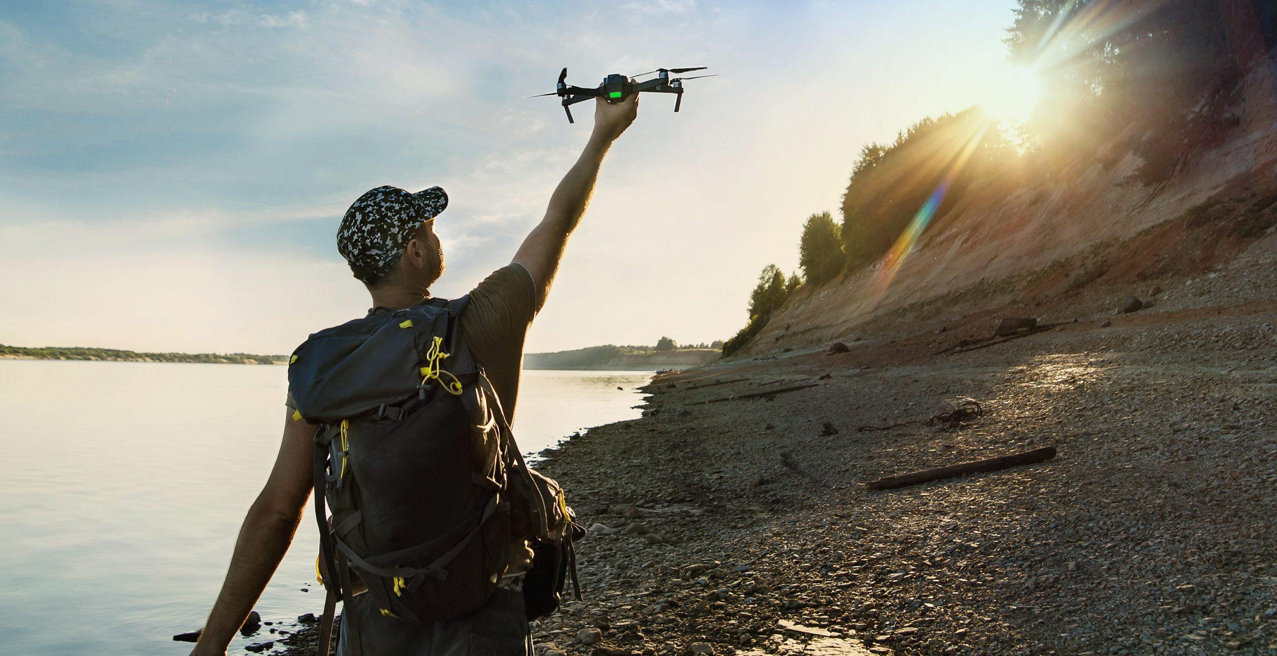4K camera drones
