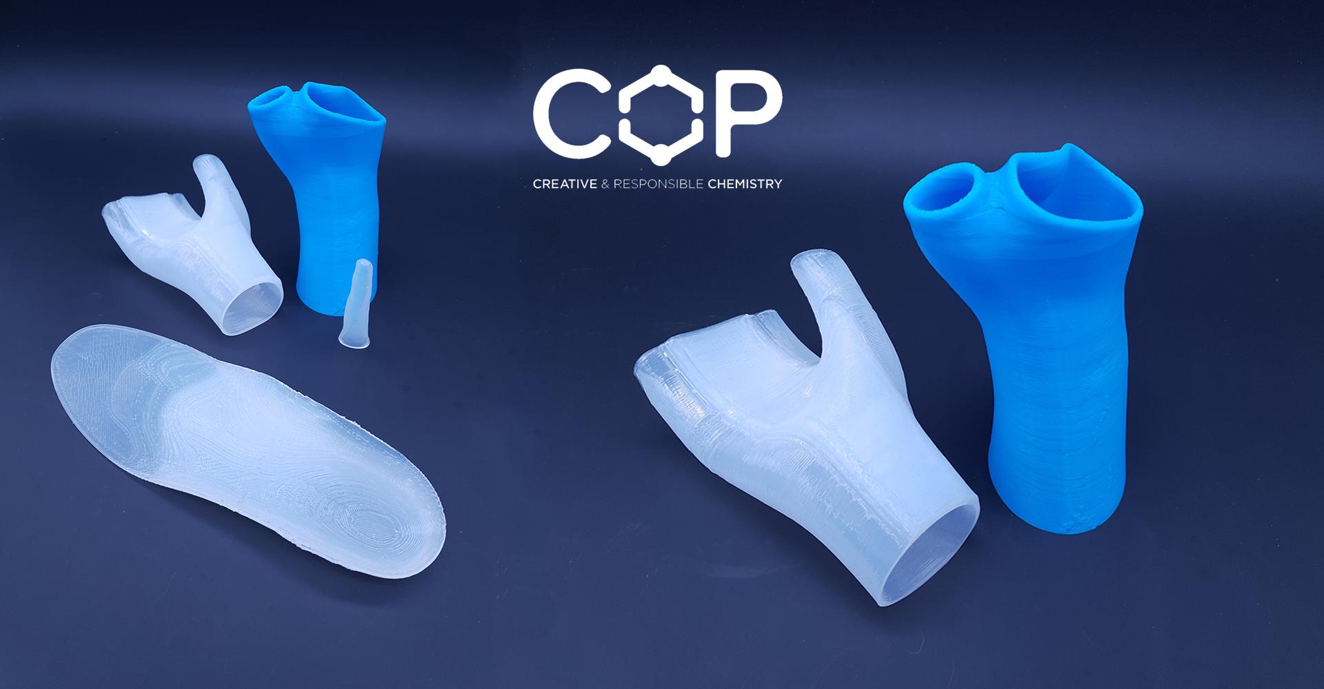 COP Chimie silicone pour impression 3D