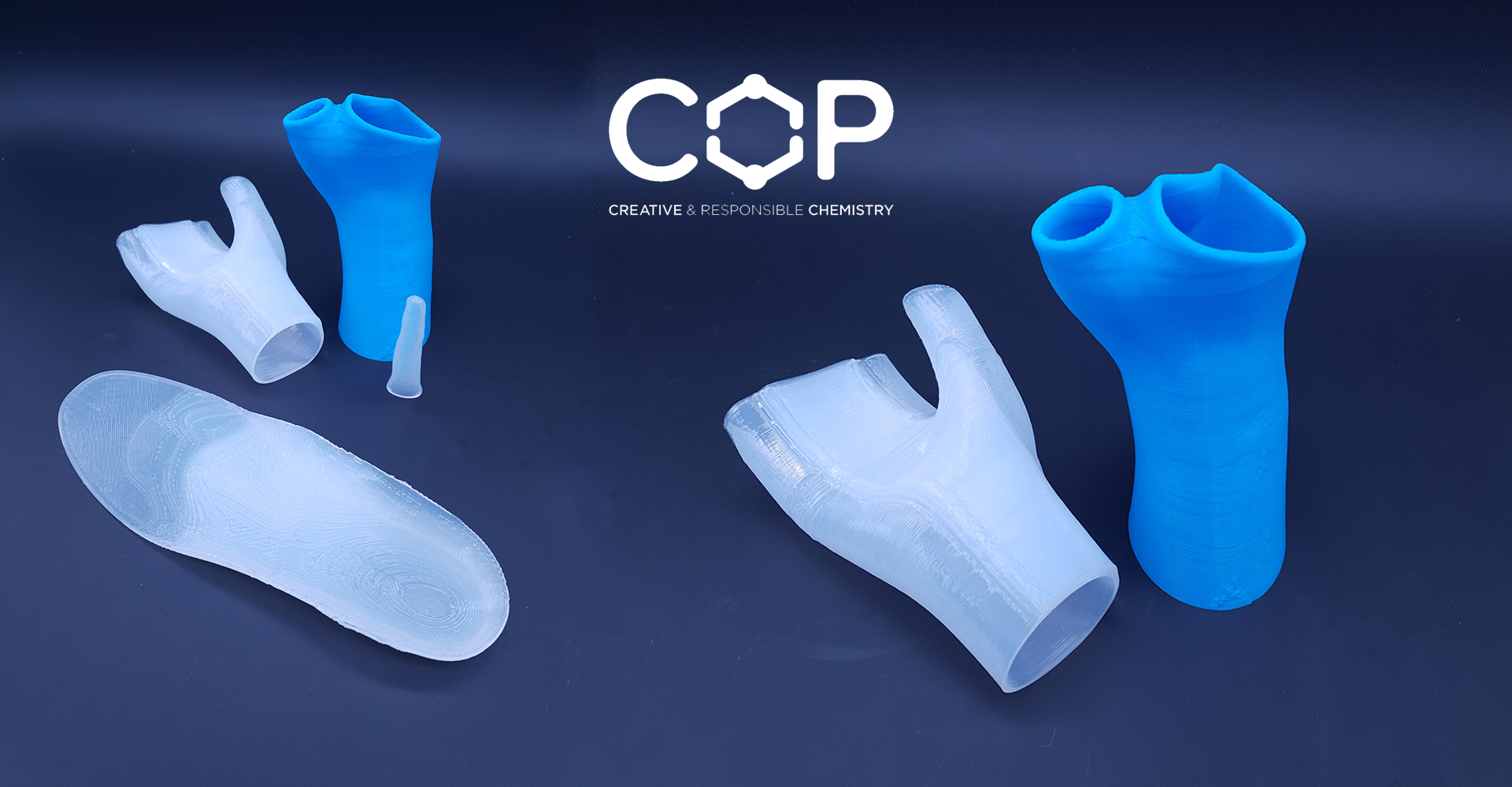 COP Chimie's sustainable chemistry: silicone 3D printing for orthopedic devices