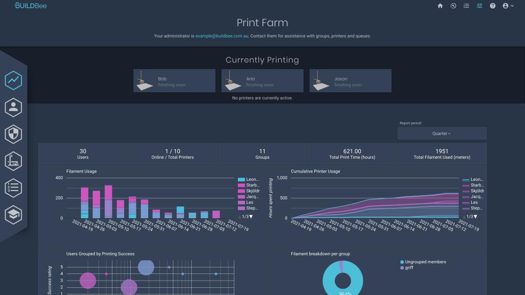 BuildBee fleet management software