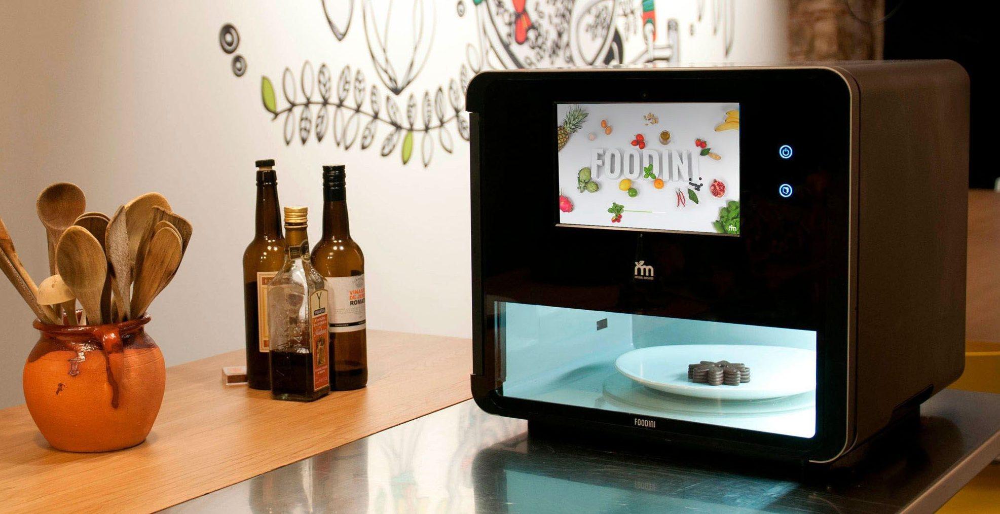 food 3D printers