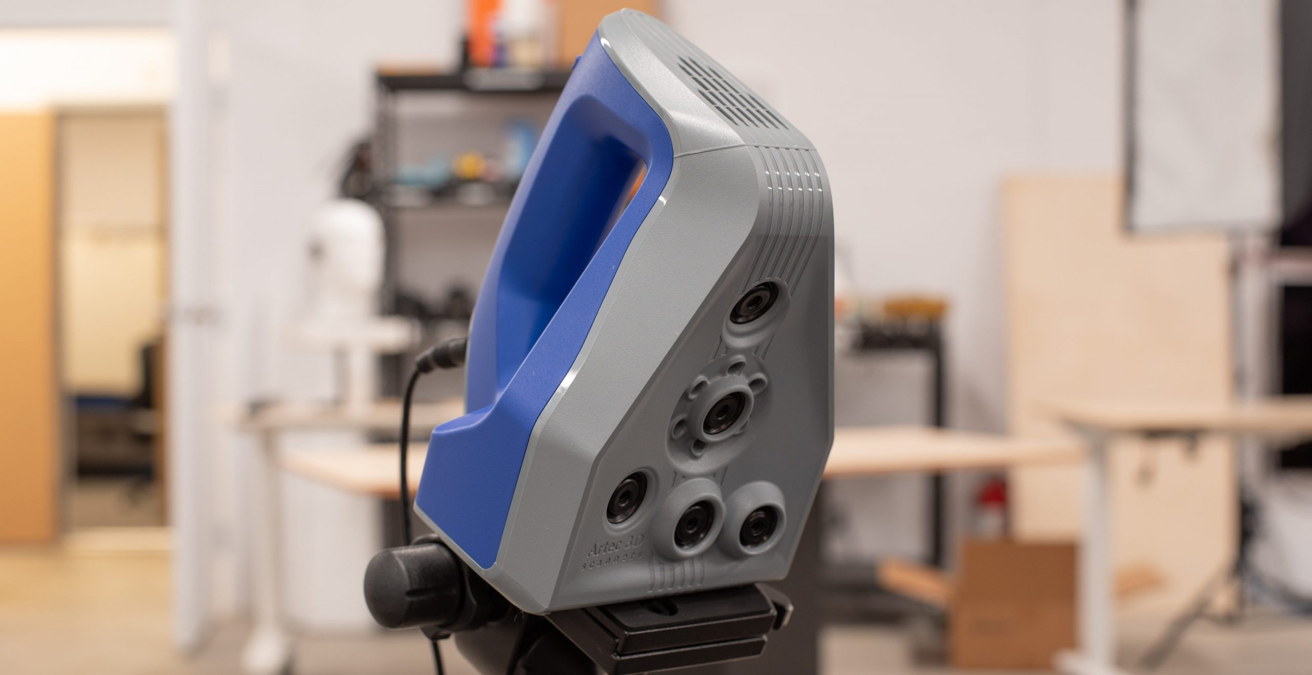 The Artec Space Spider, a portable 3D scanner