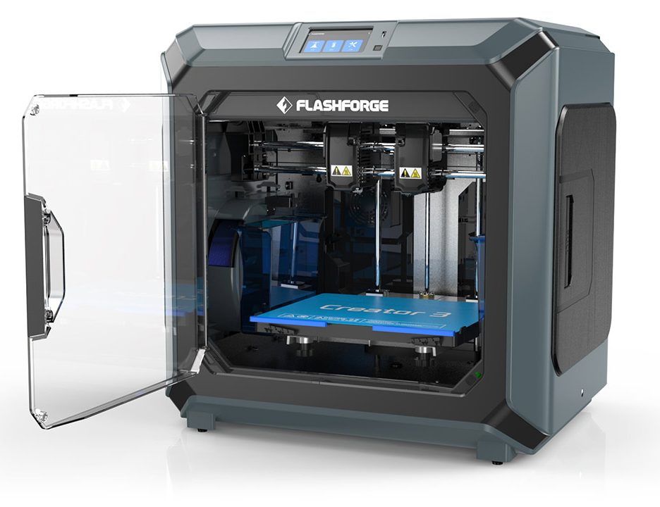 Professional-grade features and prints with the FlashForge Creator 3