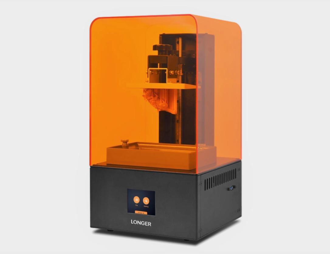 Longer3D launches brand new Orange 4K resin 3D printer series