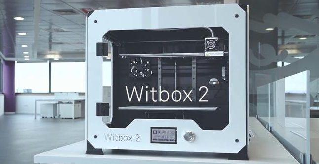 The bq Witbox 2, a powerful desktop 3D printer