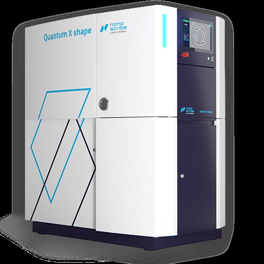 Quantum X shape Nanoscribe - 3D printers